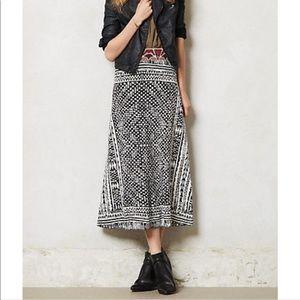 Cecelia Prado vereda sweater knit maxi skirt